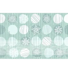 christmas walllpaper vector image vector image