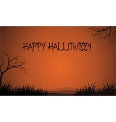 Halloween brown backgrounds design vector