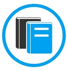 Library flat icon vector