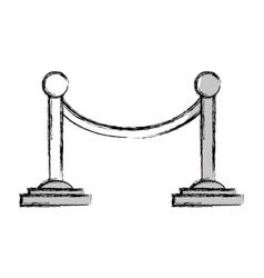 Movie cord limit icon vector