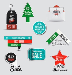 web banners 8 vector image