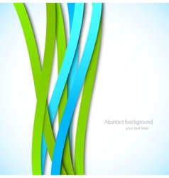 Abstract colorful background with lines vector image