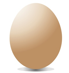 big egg vector image vector image