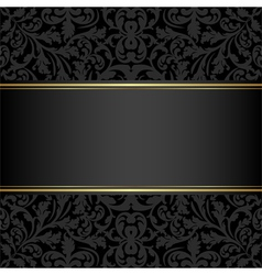 Black background vector