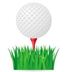 golf 02 vector image