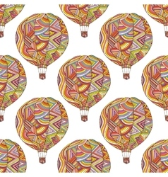 Seamless pattern with the image of the balloon vector image