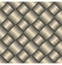 Ornate diagonal basket texture vector