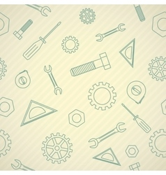 Mechanics icon pattern vector image