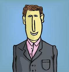 lawyer businessman vector image