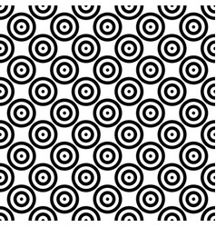 Abstract background seamless mosaic of concentric vector