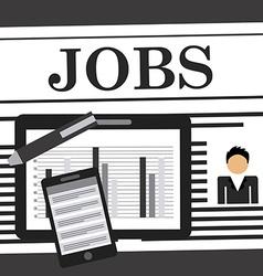 Job search vector