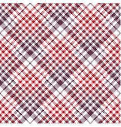 Pixel fabric texture check plaid tablecloth vector