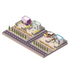 Entertainment places concept vector