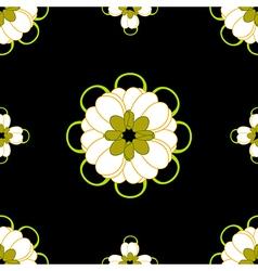 Cassia fistula - gloden shower flower black vector