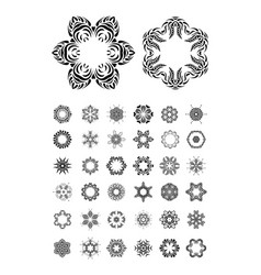 Mandala round ornament se vector