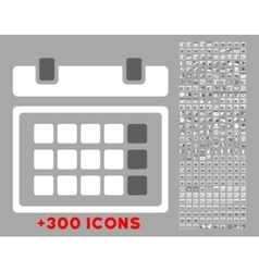 Organizer flat icon vector