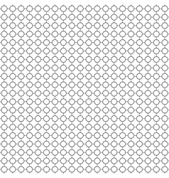 Round simple pattern seamless vector image