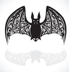 bat graphic art vector image