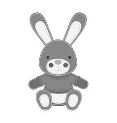 Bunny toy icon image vector