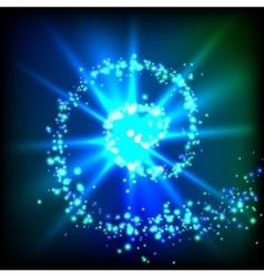 Sparkle swirl vector