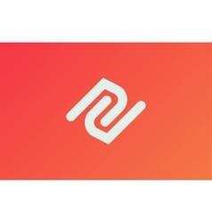 Abstract logo Minimalistic logo design Creative vector image vector image