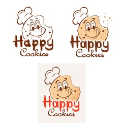 Happy Cookies vector image