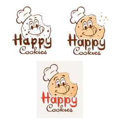 Happy Cookies vector image vector image