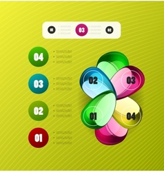 Infographics modern design template vector