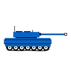 Panzer icon on white vector