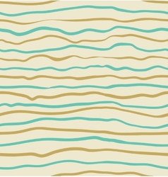 Seamless blue and yellow striped pattern vector image