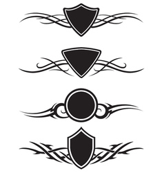 Tattoo graphic ornaments vector