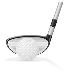 golf 04 vector image
