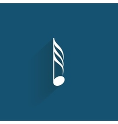 Abstract music symbol vector