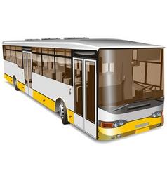 city bus vector image vector image