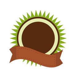 organic label emblem template image vector image vector image