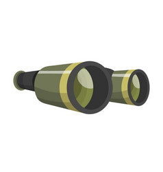 professional camera lens binocular glass look-see vector image