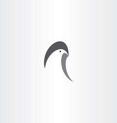 eagle logo symbol icon sign vector image vector image