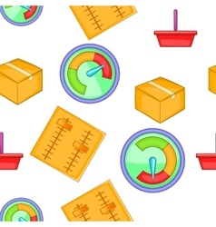 Internet setup pattern cartoon style vector