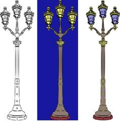 lantern a vector image