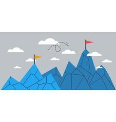 Upgrade concept achievement comparison idea vector image