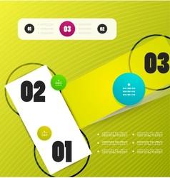 Infographics modern design template vector