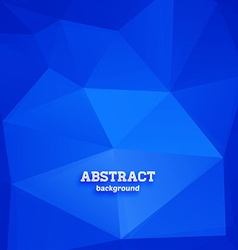 Abstract Triangular Background vector image