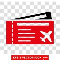 Airtickets eps icon vector