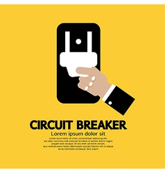 Circuit Breaker vector image