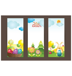 Easter background and backdrop vector