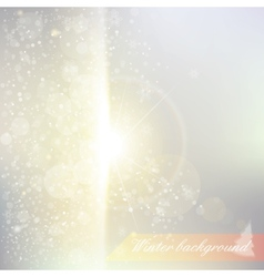 abstract snowy background vector image vector image