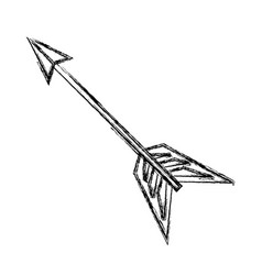 Arch bow arrow vector