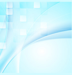 Bright abstract tech wavy background vector