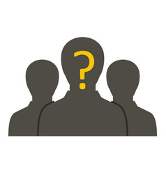 Group of business people icon isolated vector