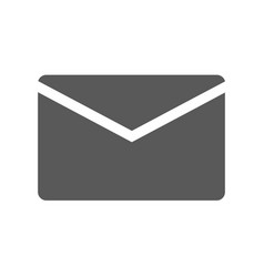 mail icon simple vector image